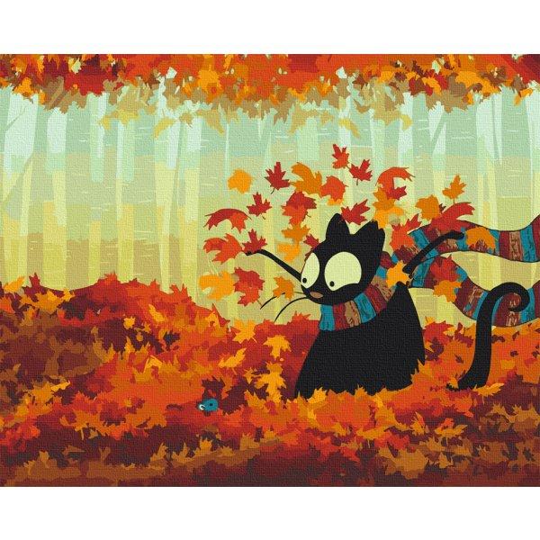 """Картина по номерам. Art Craft """"Осенняя встреча"""" 40*50 см 11622-AC"""