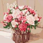 """Картина по номерам """"Розы любви"""""""