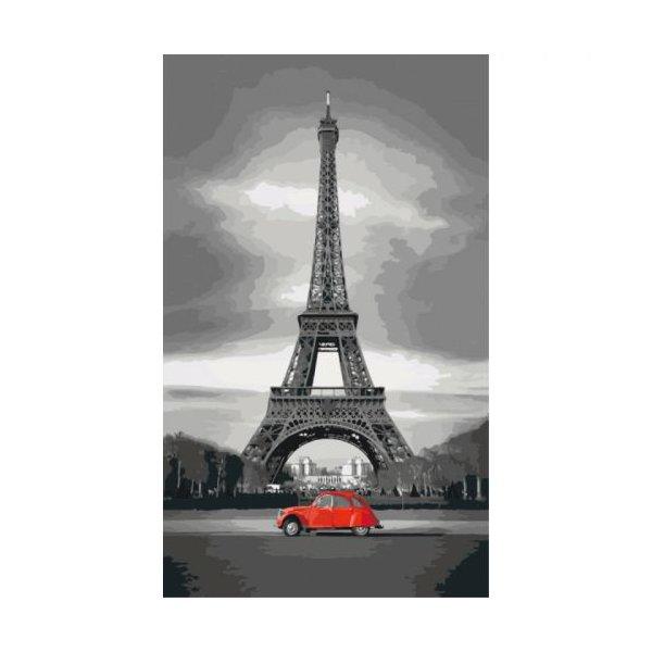 """Картина по номерам """"Париж"""" ★★★"""
