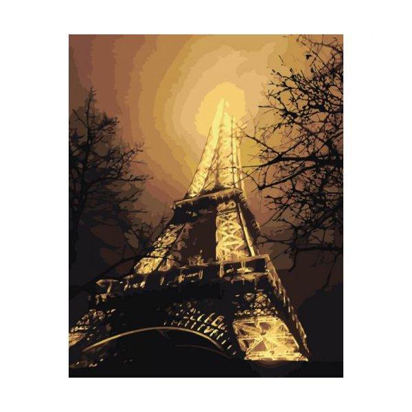 """Картина по номерам """"В красках ночного города"""" ★★★★"""