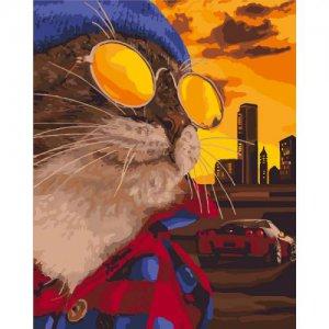 "Картина по номерам ""Дерзкий кот"""