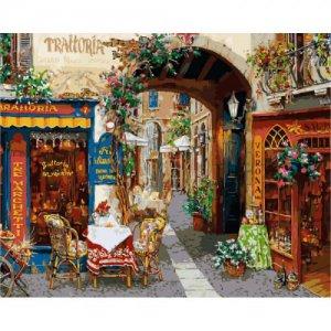 """Картина по номерам """"Волшебный переулок"""" ★★★★★"""