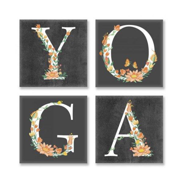 "Картина по номерам ""YOGA, лофт"" ★★★"