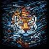 """Картина по номерам """"Тигр"""" укр"""