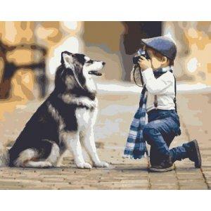 "Картина по номерам ""Фотограф"""
