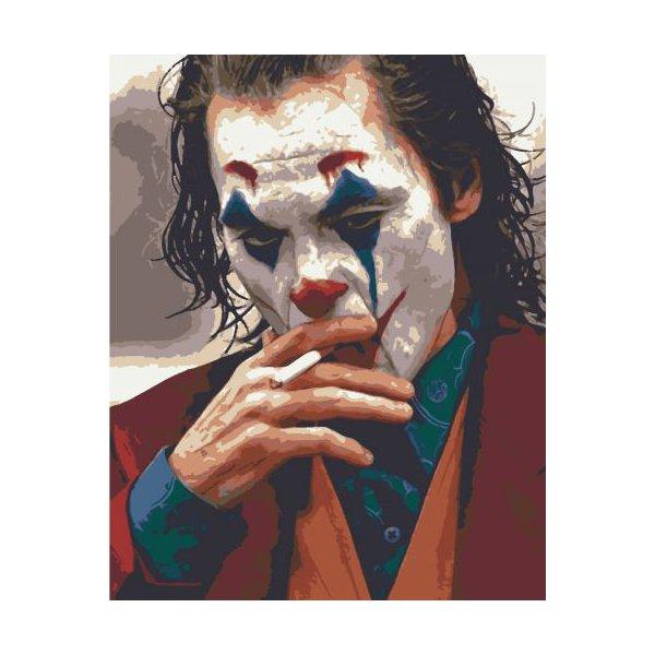 "Картина по номерам ""Джокер"""
