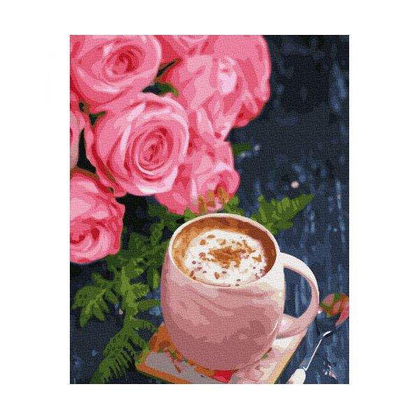 "Картина по номерам ""Кофе с корицей"" ★★★★"