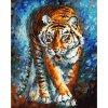 """Картина по номерам """"Голодный тигр"""" ★★★★"""
