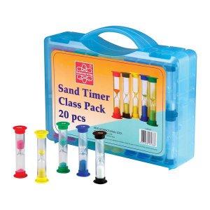 Набір піскових годинників Edu-Toys на клас, 20 шт. (GM188)