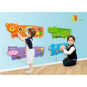 Бизиборд Viga Toys Бегемотик (50470FSC)