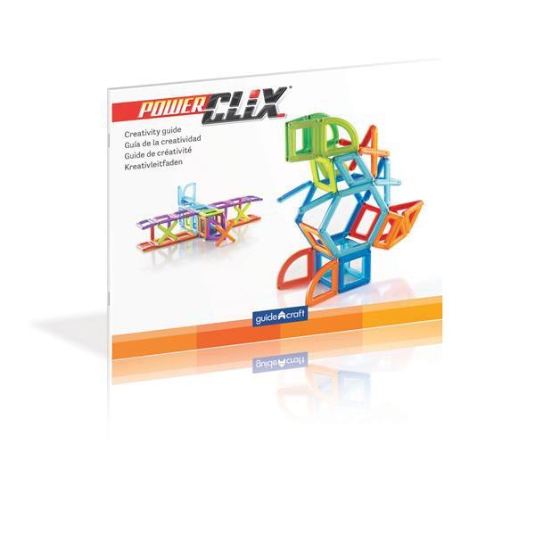 Магнитный конструктор Guidecraft PowerClix Frames, 26 деталей (G9199)