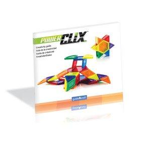 Магнитный конструктор Guidecraft PowerClix Solids, 94 детали (G9423)
