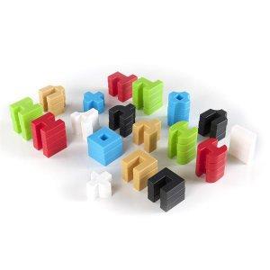 Конструктор Guidecraft IO Blocks Дорожный набор, 59 деталей (G9604)