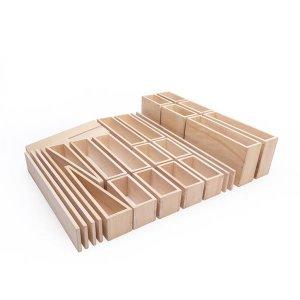 Модульный конструктор Guidecraft для улицы Полые блоки из дерева 25 эл. (G97078)