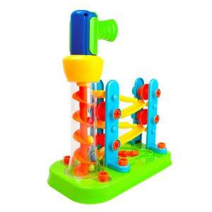 Конструктор Edu-Toys Горка-зигзаг с инструментами (JS021)