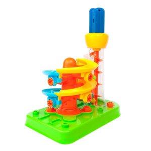 Конструктор Edu-Toys Гірка-спіраль з інструментами (JS022)