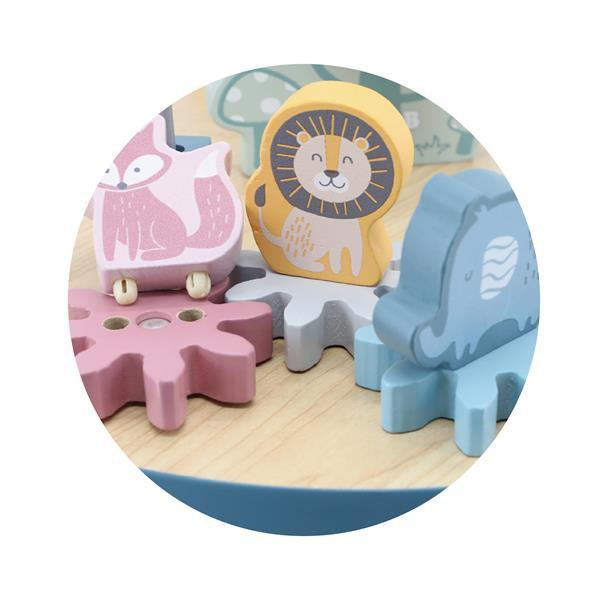 Деревянный игровой центр Viga Toys PolarB Столик с лабиринтом (44033)