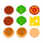 Игрушечные продукты Viga Toys Деревянные гамбургер и кола (51602)