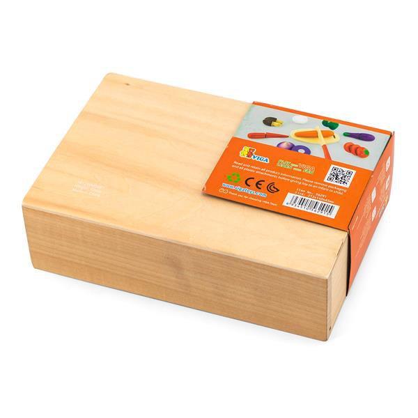 Іграшкові продукти Viga Toys Нарізані овочі з дерева (56291)