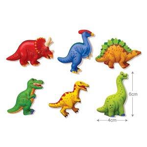 Набор для творчества 4M Магниты из гипса Динозавры (00-03514)