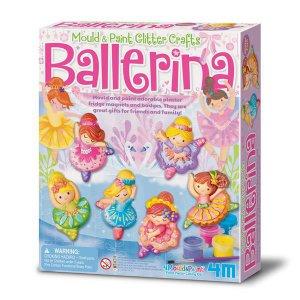 Набор для творчества 4M Магниты из гипса Балерины (00-03527)