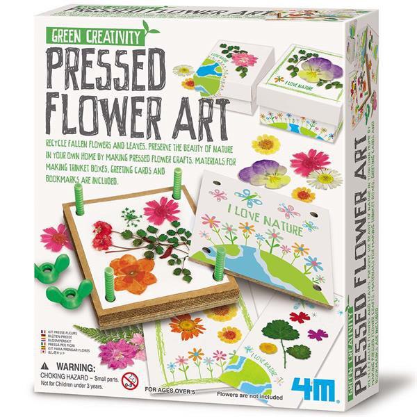 Набор для творчества 4M Цветочное искусство (00-04567)