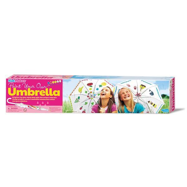 Набор для творчества 4M Разрисуй зонтик (00-04584)