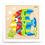 Набор для творчества Viga Toys Картина своими руками Рыбка (50687)