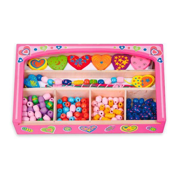 Набор для творчества Viga Toys Ожерелье из сердечек (52729)