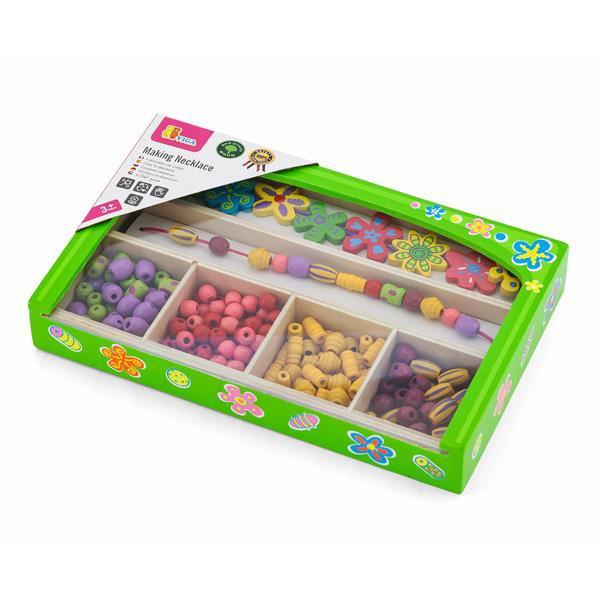 Набор для творчества Viga Toys Ожерелье из цветов (52730)
