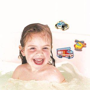 Набір наклейок для ванної 4M Транспорт (00-04748)