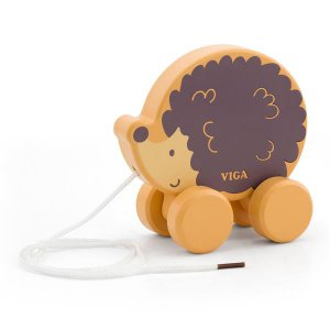 Деревянная каталка Viga Toys PolarB Ежик (44003)