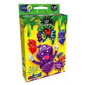 """Набір для дослідів Лизун """"Crazy Slime - своїми руками """"фіолетовий"""