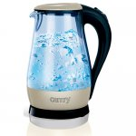 Чайник електричний скло Camry CR 1251 Электрочайник