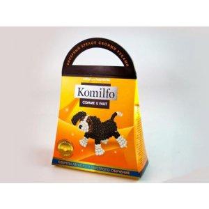 "Набор для творчества ""Komilfo: Бисерный брелок Собачка"""