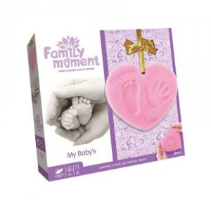 """Набор для отпечатка ручки и ножки """"Family Moment"""", FMM-01-02U (укр)"""