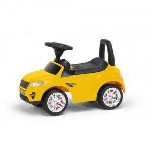 Детская машинка-каталка (желтая)