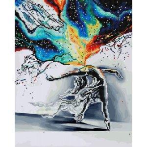 "Картина по номерам + Алмазная мозаика ""Экспрессия"" ★★★★"