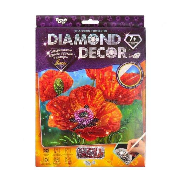 """Набор для творчества """"Diamond Decor: Маки"""""""