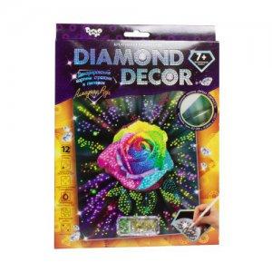 "Набор для творчества ""Diamond Decor: Алмазная роза"""