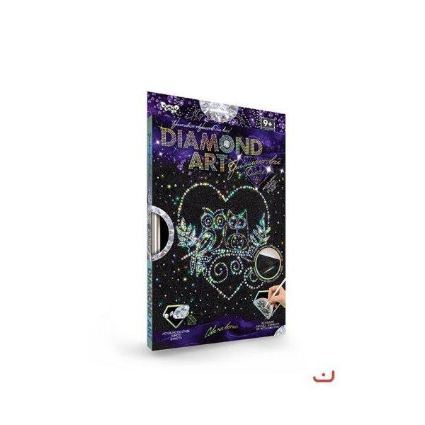 """Набор для креативного творчества """"DIAMOND ART"""", """"Совушки"""""""