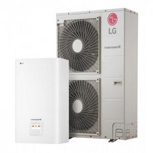 Наружный и внутренний блок теплового насоса LG HU051.U43 + HN1616 NK3 (1ф) - 5кВт