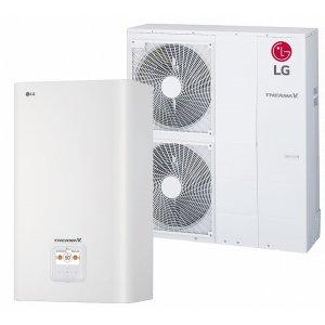 Наружный и внутренний блок теплового насоса LG HU123.U33 + HN1639 NK3 - 12кВт (3Ф)