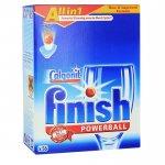 Finish PowerBall All In 1 для мытья посуды в посудомоечных машинах, 56шт