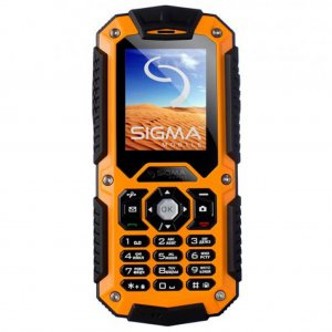 Смартфон Sigma X-treme IT67 Dual Sim Orange (4827798283219)