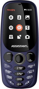 Смартфон Assistant AS-203 Blue