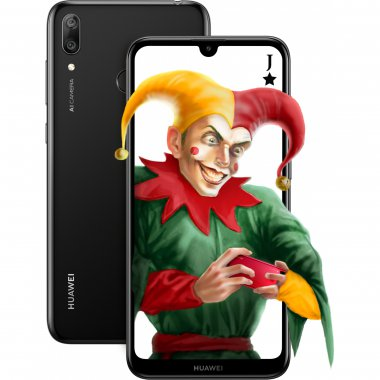 Смартфон HUAWEI Y7 2019 3/32GB Midnight Black