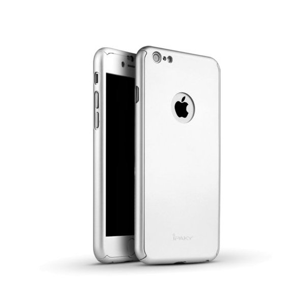 Чехол для смартфона Ipaky 360 Whole Round iPhone 7 Silver