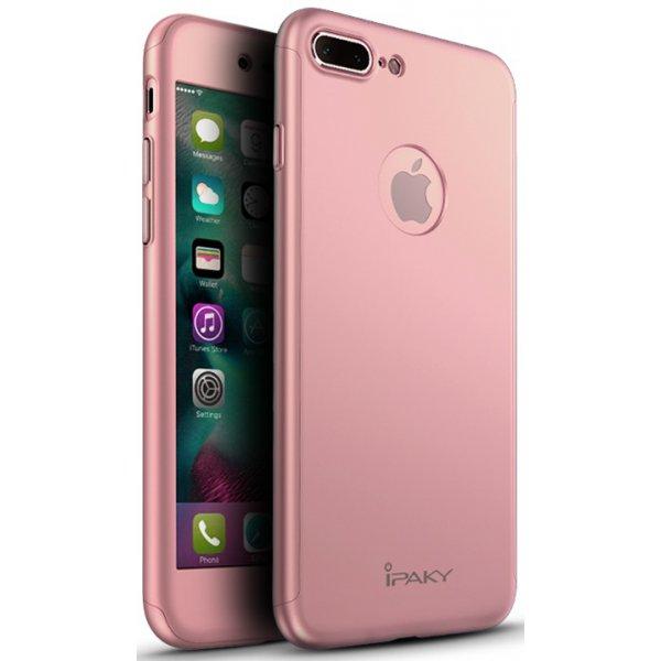 Чехол для смартфона Ipaky 360 Whole Round iPhone 7 Pink