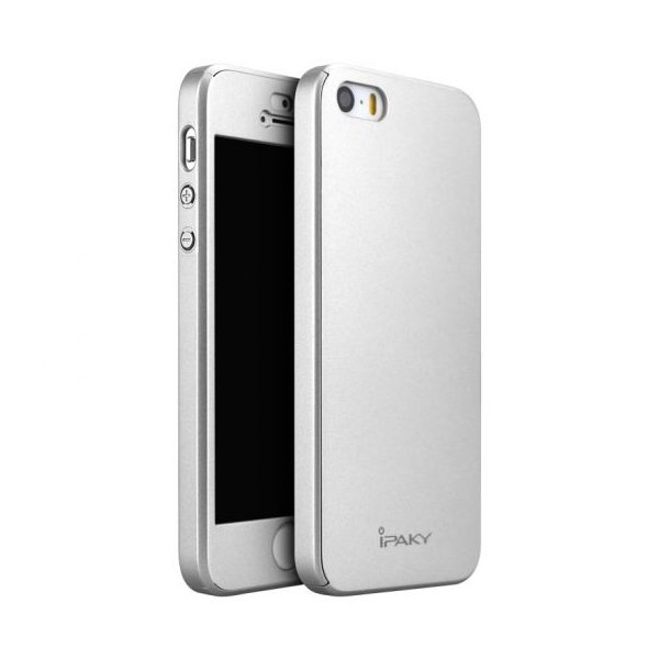 Чехол для смартфона Ipaky 360 Full Protection iPhone 5/5S/SE Silver